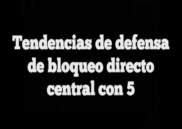 Tendencias defensivas del 2*2